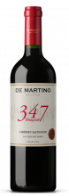 Garrafa de Vinho De Martino Cabernet Sauvignon Reserva 347 Vineyards 2017