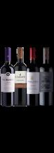 Kit 4 Vinhos Tintos Chilenos