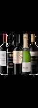 Kit 5 Vinhos com Ótimo Custo-benefício