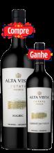 Garrafa de Vinho Alta Vista Premium Estate Malbec 2017