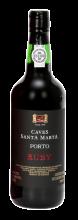 Garrafa de Vinho do Porto Caves Santa Marta Ruby