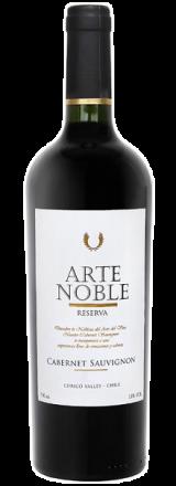 Garrafa de Vinho Tinto Arte Noble Reserva Cabernet Sauvignon 2015