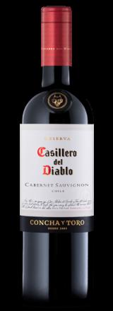 Garrafa de Vinho Casillero del Diablo Cabernet Sauvignon Reserva 2018