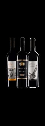 Kit 3 Vinhos Primitivo