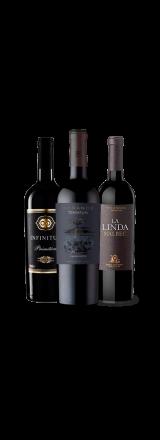 Kit 3 Vinhos Tintos com Ótimo Custo-benefício