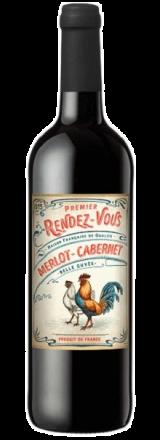 Garrafa de Vinho Rendez-Vous Merlot Cabernet Sauvignon 2019