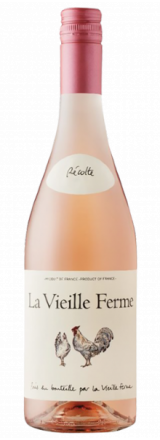 Garrafa de Vinho Rosé La Vieille Ferme 2018