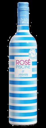 Garrafa de Vinho Rosé Piscine
