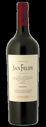 Garrafa de Vinho San Felipe Malbec Roble 2018