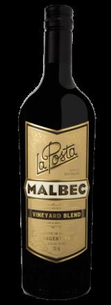 Garrafa de Vinho La Posta Malbec Vineyard Blend 2017
