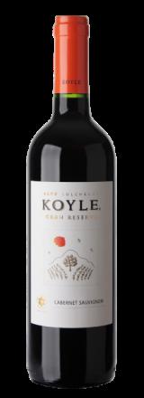 Garrafa de Vinho Orgânico Koyle Gran Reserva Cabernet Sauvignon 2018
