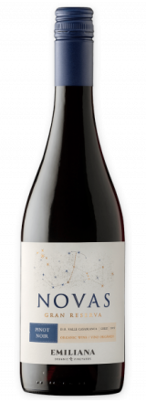 Garrafa de Vinho Orgânico Novas Gran Reserva Pinot Noir 2019