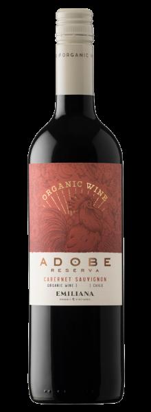 Vinho Orgânico Adobe Reserva Cabernet Sauvignon 2019